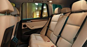 BMW X3 - фото салона #2